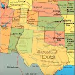 Map Showing Current Usa With The Republic Of Texas Superimposed   Johnson City Texas Map