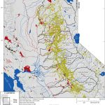 Map Showing Locations Of Historical Gold Mines In The Sierra Nevada   California Gold Mines Map