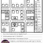 Map Skills   Reading Maps Printables & Map Making Task | Social   Printable Map Directions