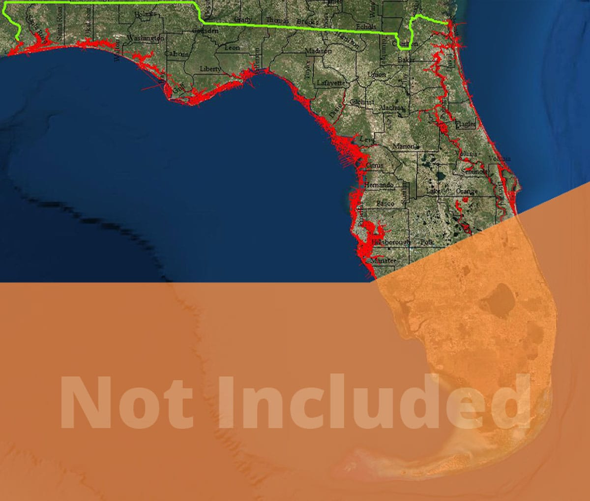 Map Update South Florida (Only Applicable For Existing Customers Who - Florida Marine Maps