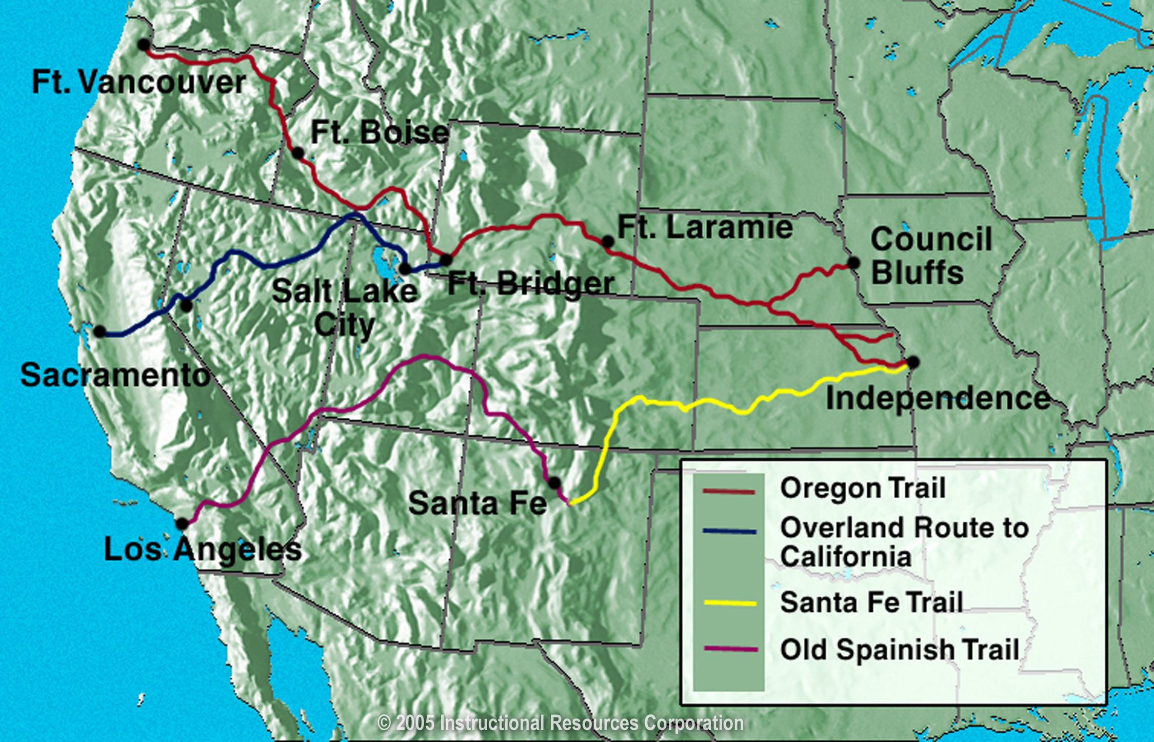 Map Valid Maps Oregon California Trail Map - Klipy - California Trail Map