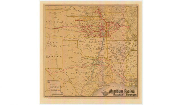 Texas Land Map