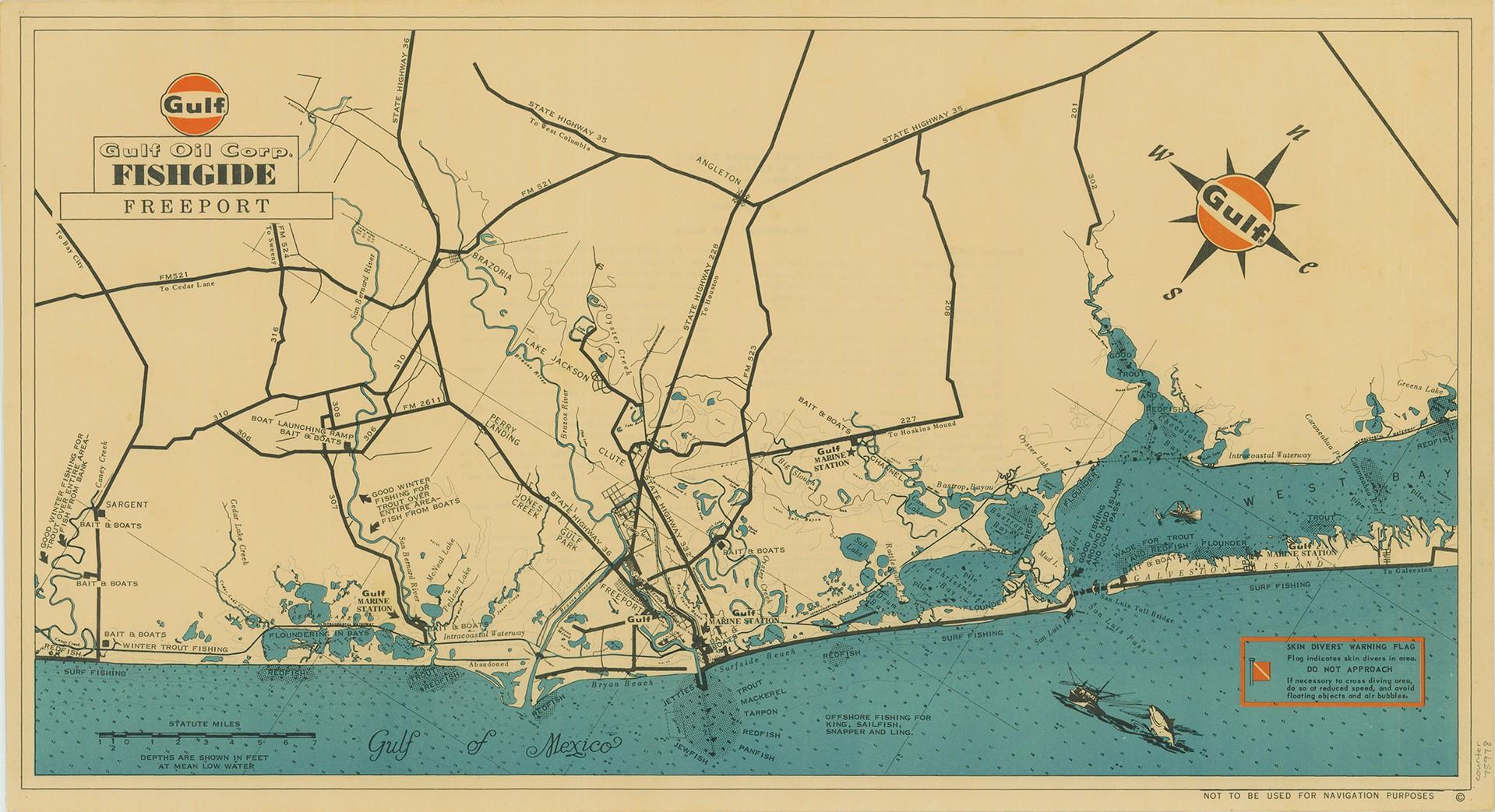 Mapping Texas: The Gulf Coast – Save Texas History – Medium - Texas Gulf Coast Shipwrecks Map