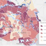 Mapping Tool Helps Neighborhoods Better Understand Harvey, Houston   Harris County Texas Flood Map