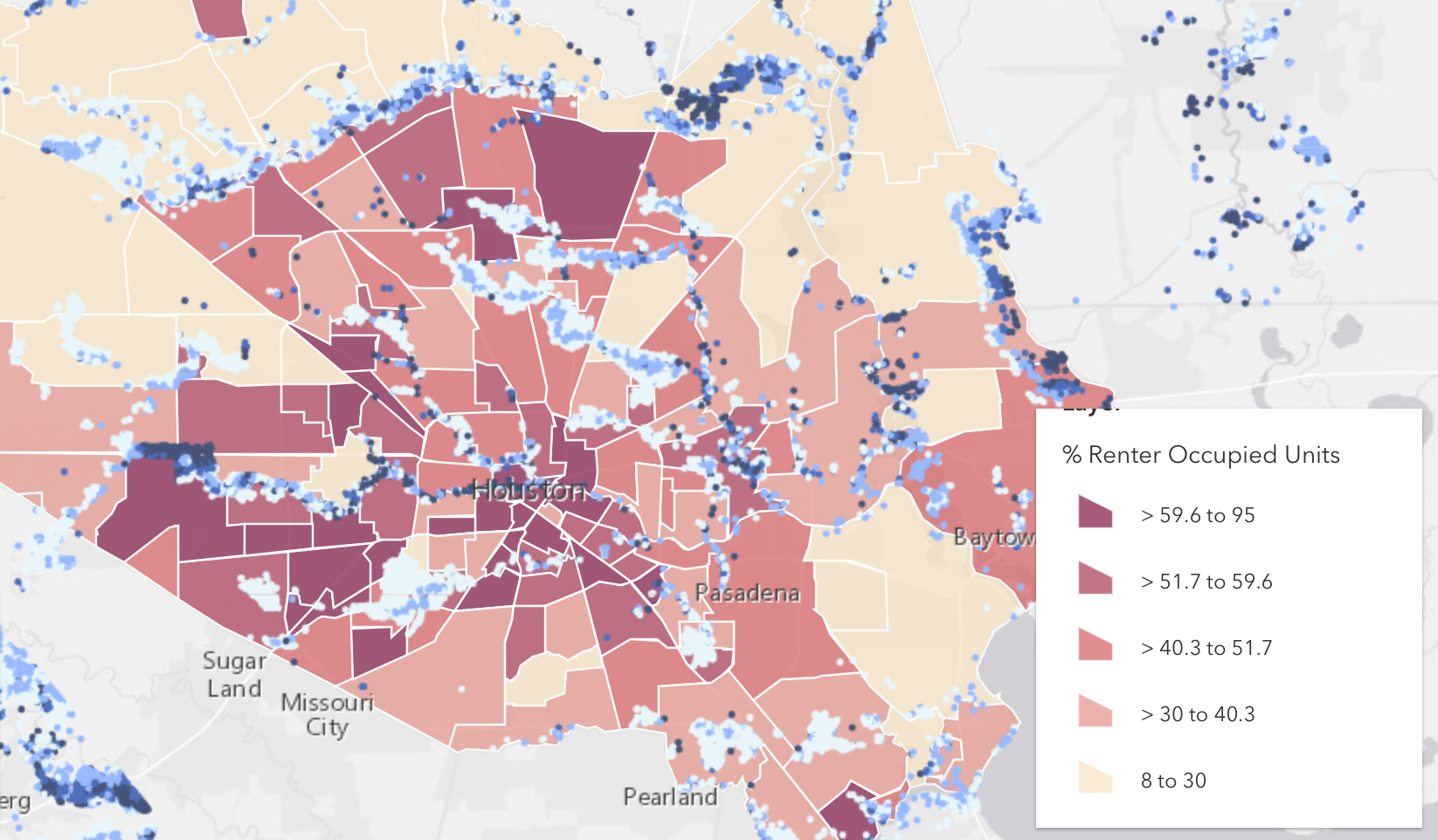 Mapping Tool Helps Neighborhoods Better Understand Harvey, Houston - Map Of Flooded Areas In Houston Texas