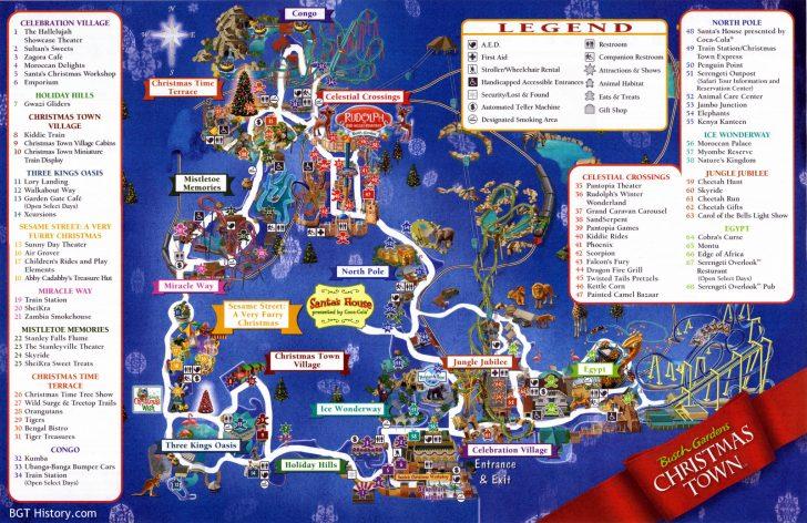 Bush Garden Florida Map
