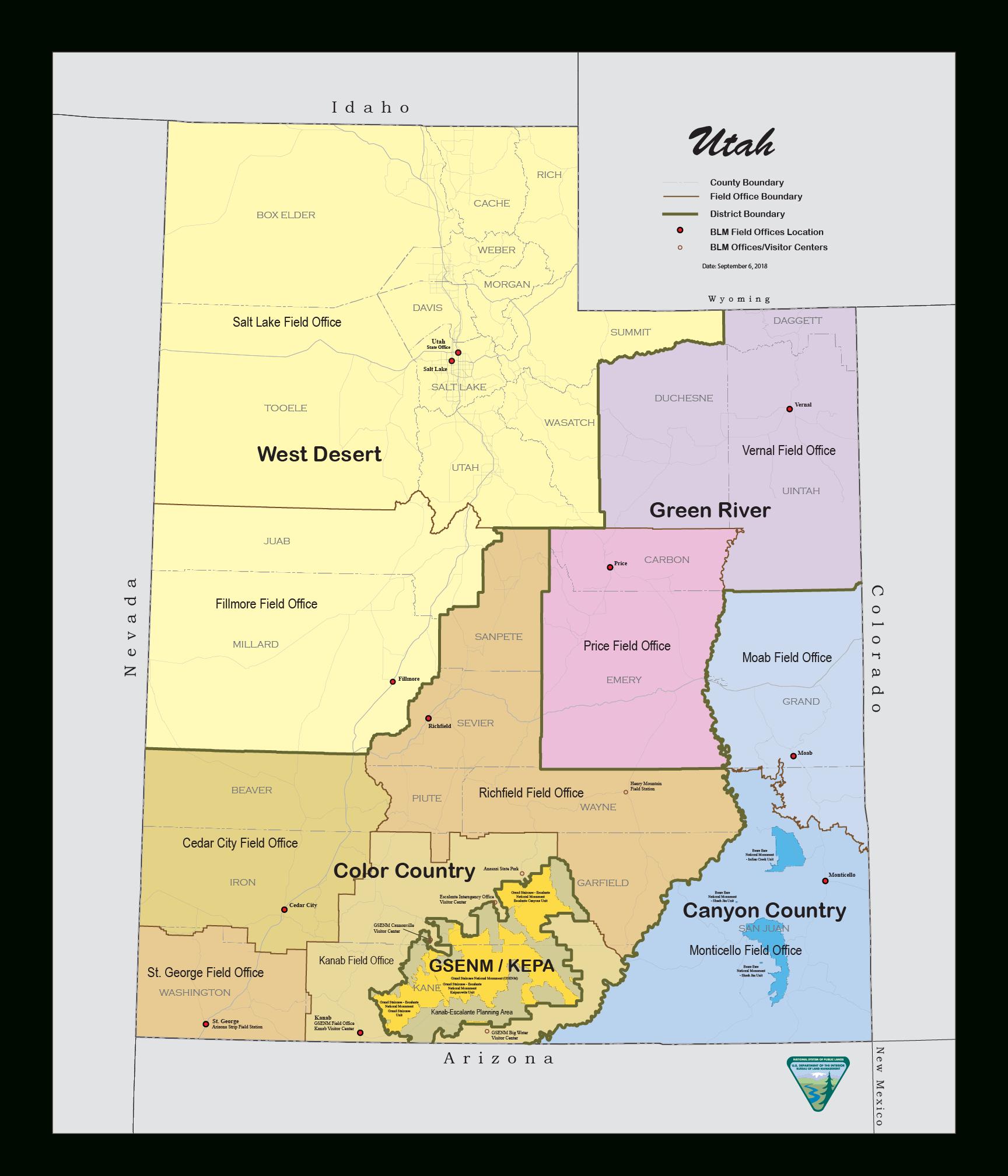 Maps | Bureau Of Land Management - Blm Land California Shooting Map