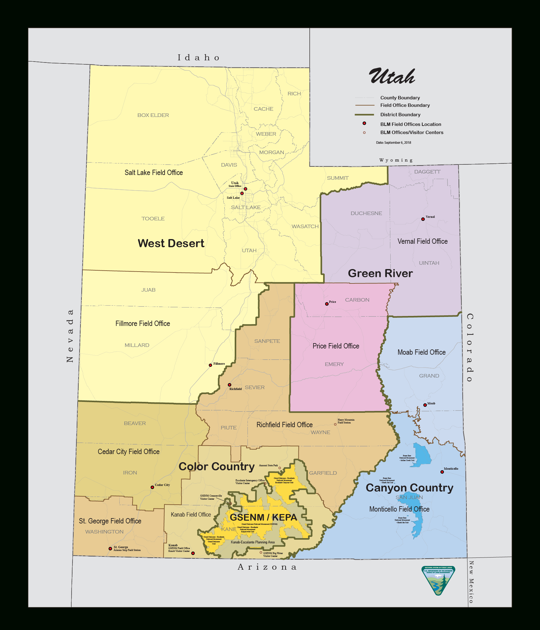 Maps | Bureau Of Land Management - Texas Blm Land Map