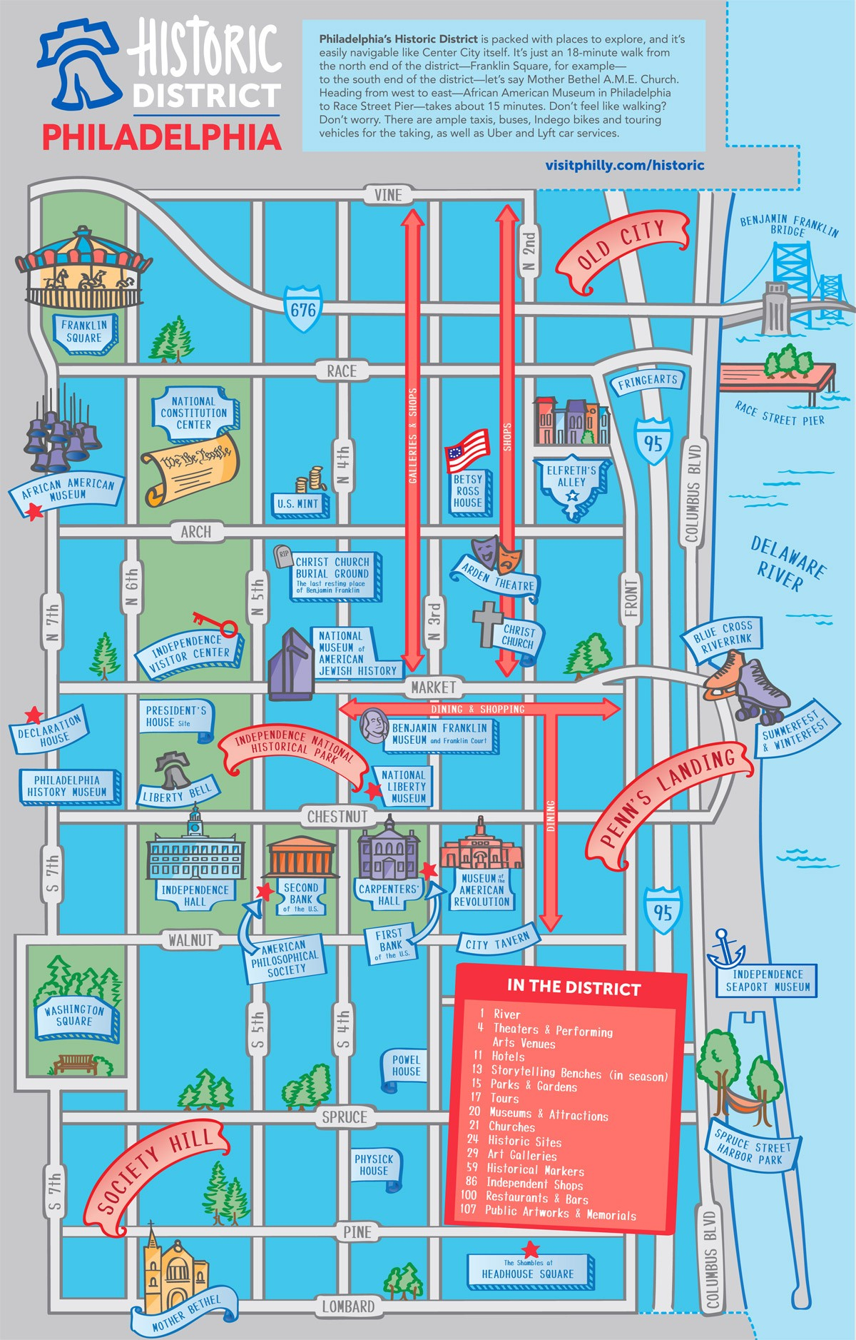 Maps & Directions - Philadelphia Street Map Printable