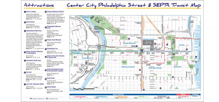 Philadelphia Street Map Printable