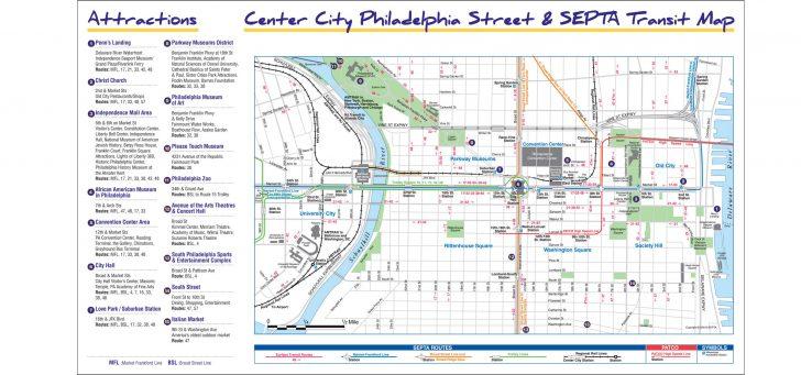 Philadelphia Tourist Map Printable