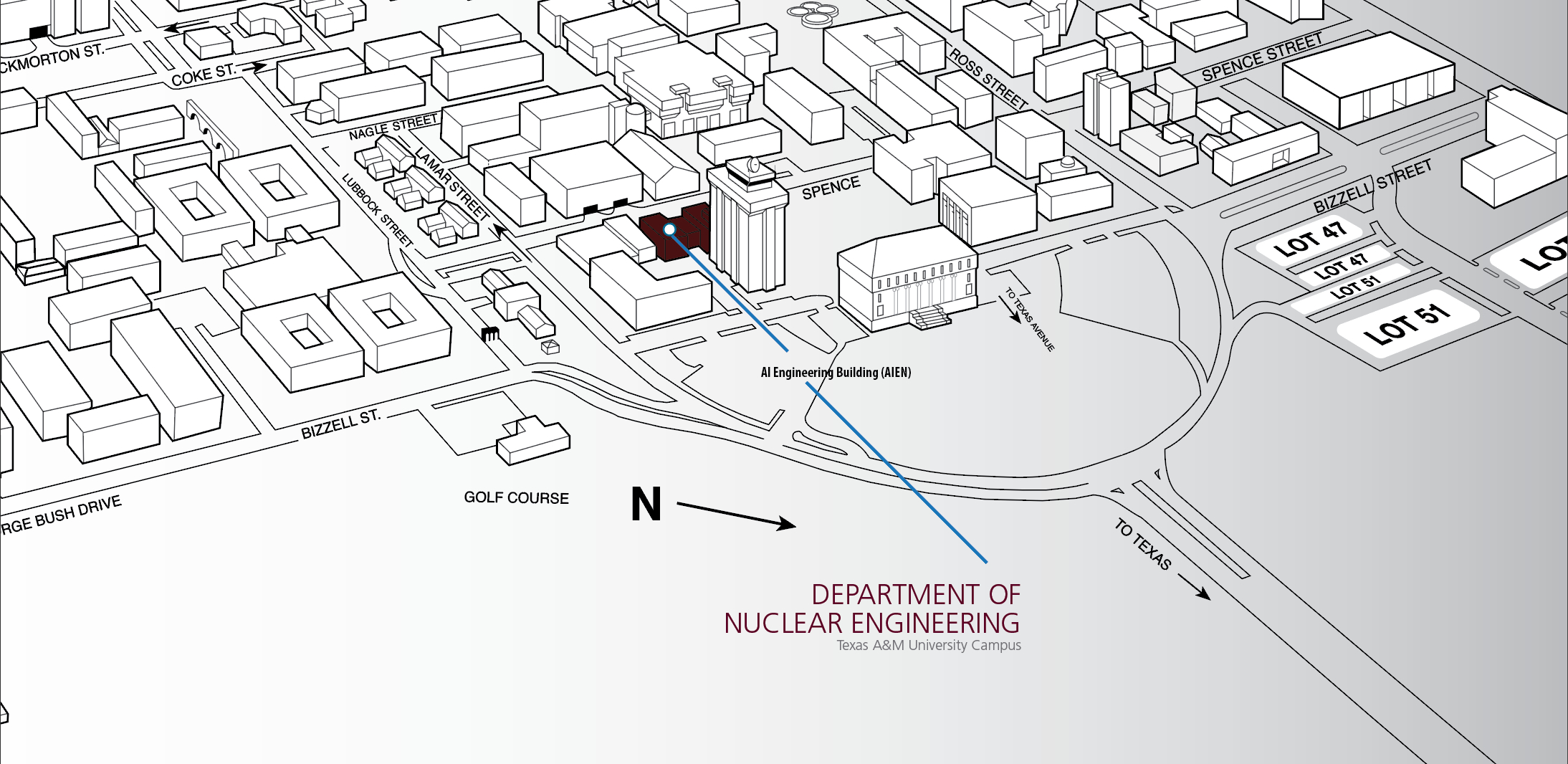 Maps & Directions | Texas A&m University Engineering - Texas A&m Location Map