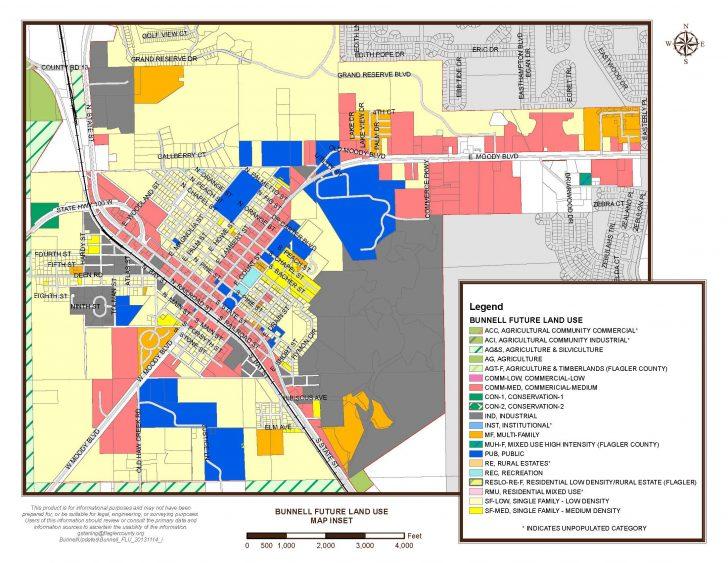 Bunnell Florida Map