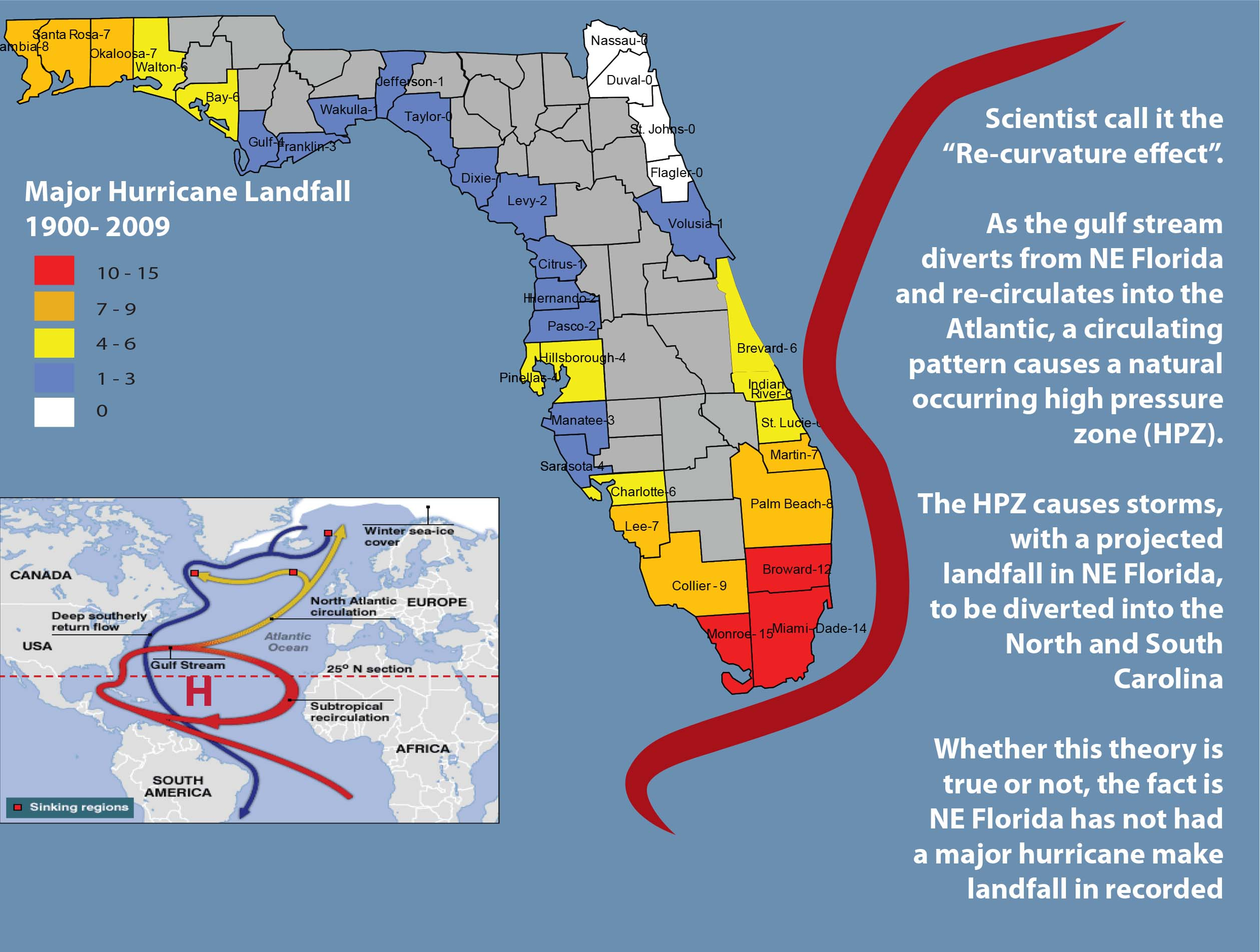 Maps - Flagler County - Florida Gulf Map