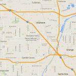 Maps Of Disneyland Resort In Anaheim, California   Anaheim California Map