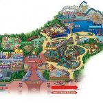 Maps Of Disneyland Resort In Anaheim, California   Southern California Amusement Parks Map