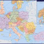 Maps Of Europe And European Countries | Political Maps   Large Map Of Europe Printable