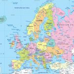 Maps Of Europe | Map Of Europe In English | Political   Large Map Of Europe Printable