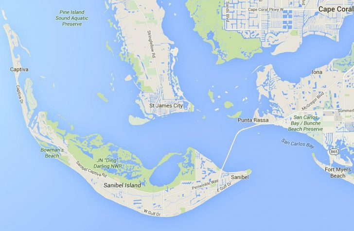 Annabelle Island Florida Map