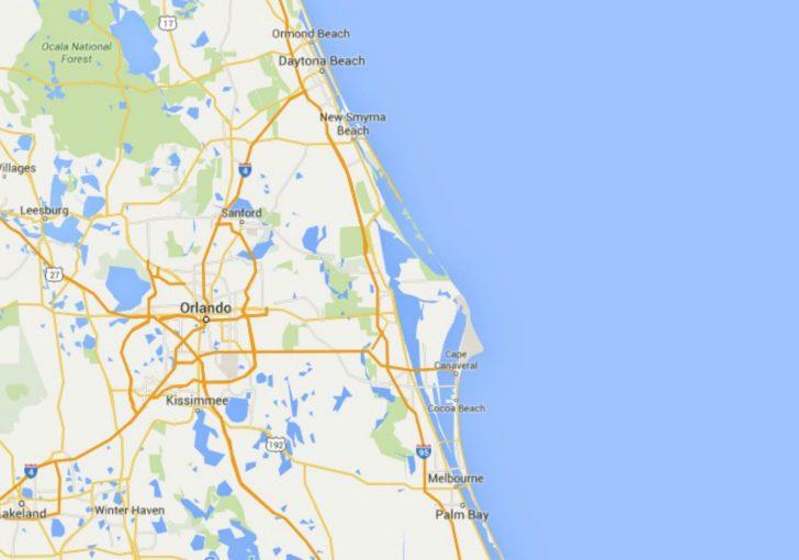 Coco Beach Florida Map