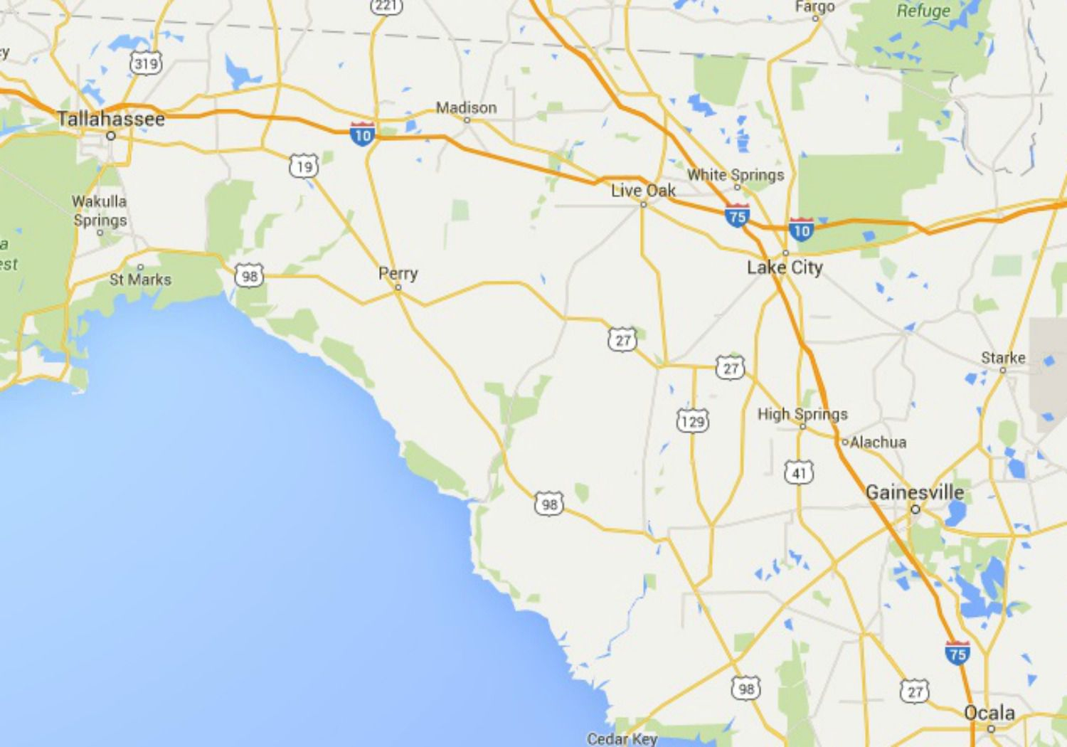 Maps Of Florida: Orlando, Tampa, Miami, Keys, And More - Destin Florida Location On Map