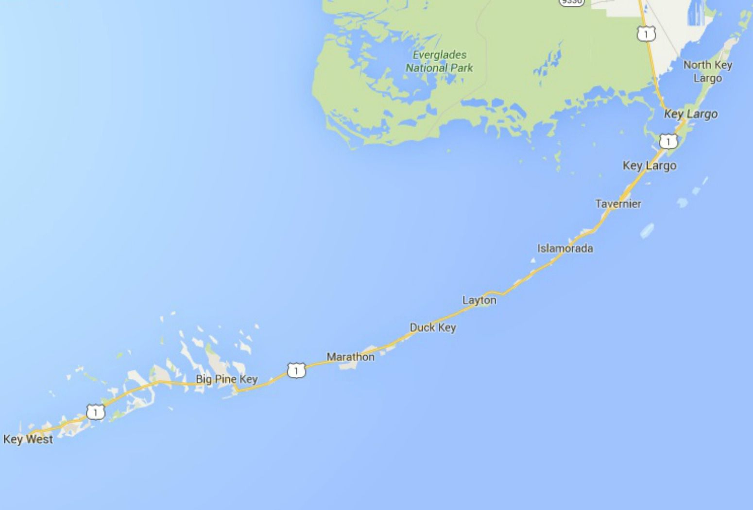 Maps Of Florida: Orlando, Tampa, Miami, Keys, And More - Florida Keys Map