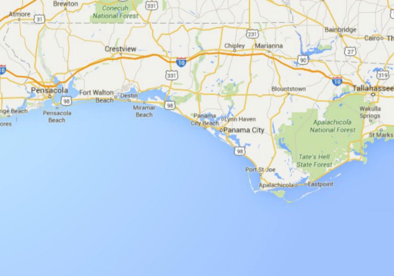 Maps Of Florida: Orlando, Tampa, Miami, Keys, And More - Map Of Florida Panhandle Beaches