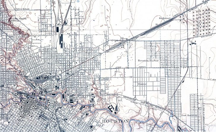 Map Records Of Harris County Texas