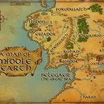 Maps Of Middle Earth | Middle Earth Printable Map | J.r.r. Tolkein   Printable Map Of Middle Earth