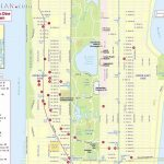 Maps Of New York Top Tourist Attractions   Free, Printable   Map Of Midtown Manhattan Printable