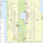 Maps Of New York Top Tourist Attractions   Free, Printable   Printable Street Map Of Midtown Manhattan
