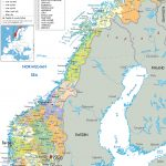 Maps Of Norway | Detailed Map Of Norway In English | Tourist Map Of   Printable Map Of Norway