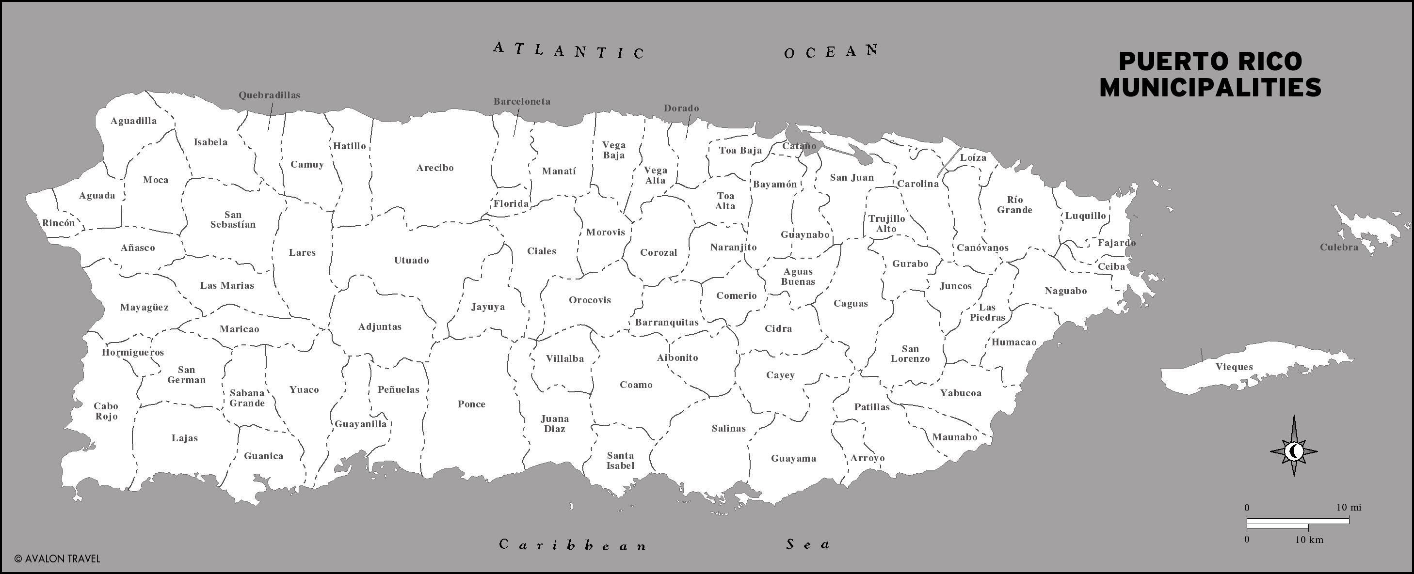 Maps Of Puerto Rico | Education | Pinterest | Puerto Rico Map - Printable Map Of Puerto Rico
