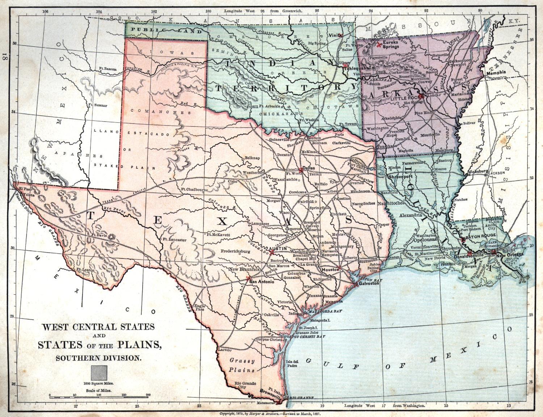 Maps Of Texas And Louisiana | Settoplinux - Texas Louisiana Map
