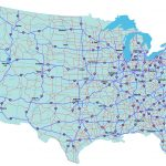 Maps Of United States Interstate Highways And Travel Information   Free Printable Road Maps Of The United States