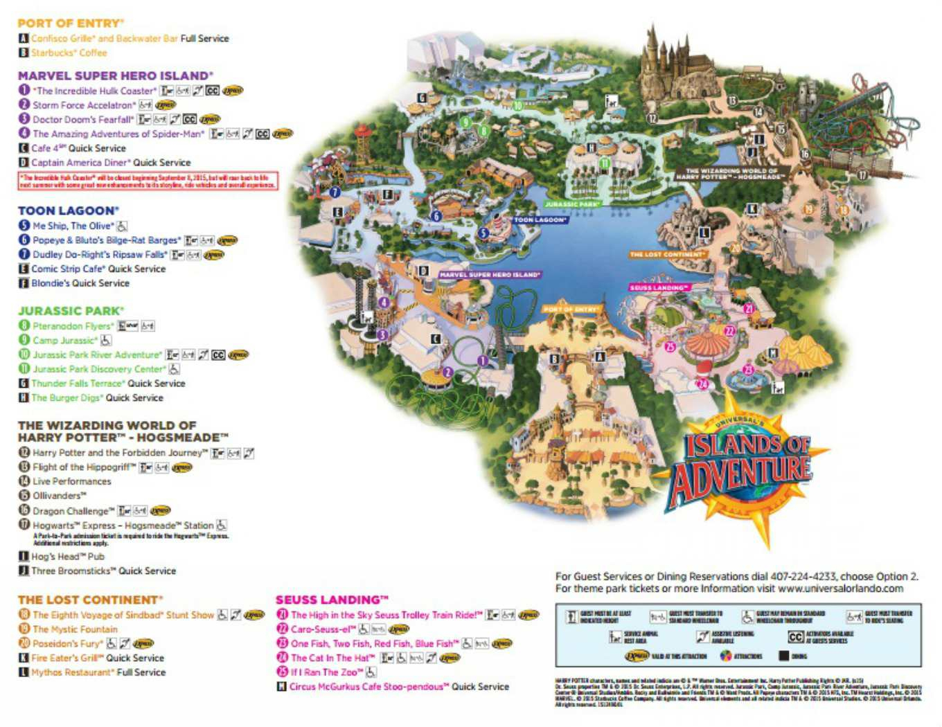 Maps Of Universal Orlando Resort's Parks And Hotels - Universal Parks Florida Map