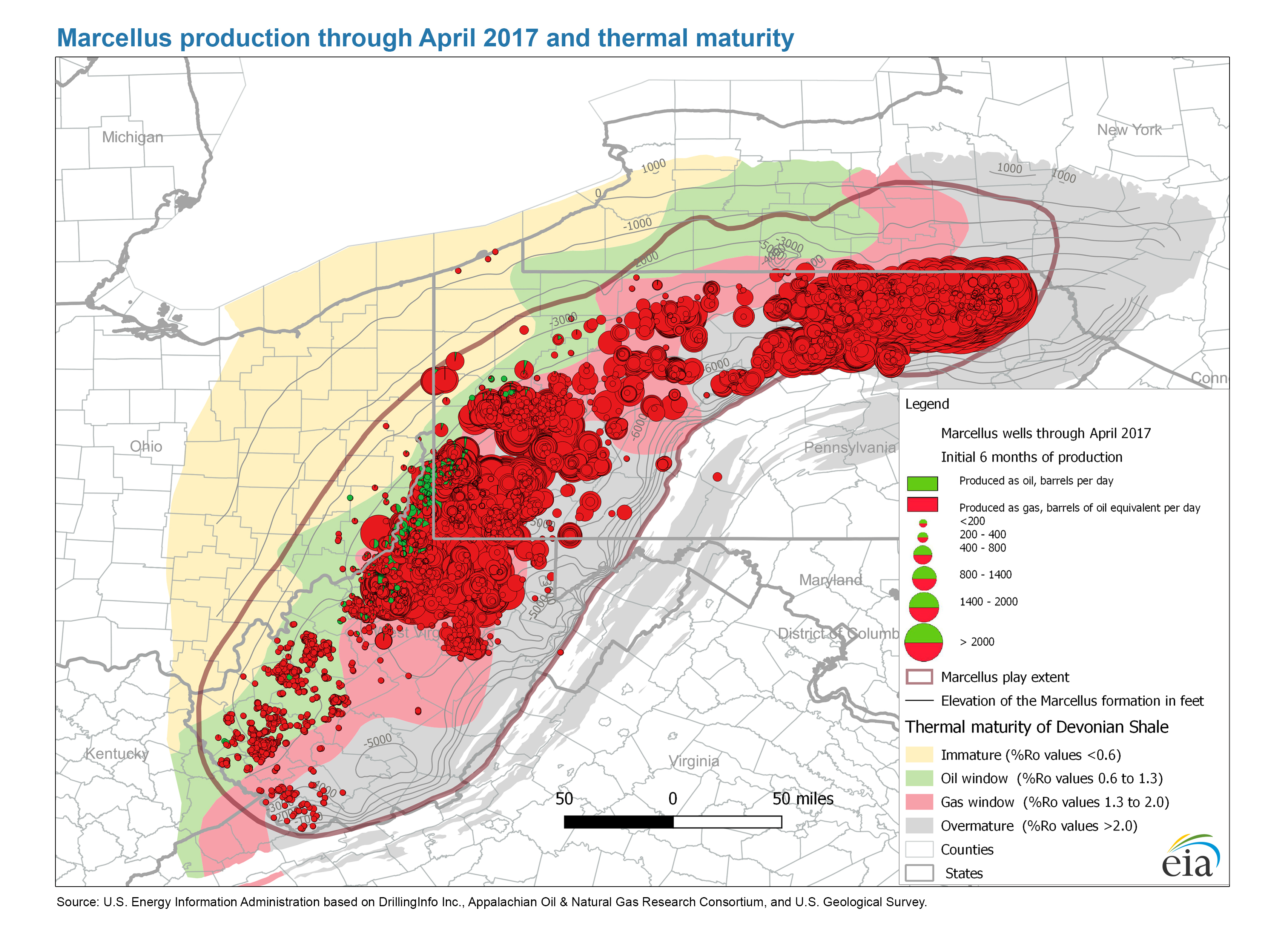 Maps: Oil And Gas Exploration, Resources, And Production - Energy - Texas Oil And Gas Well Map