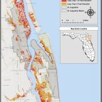 Maps | Planning For Sea Level Rise In The Matanzas Basin   Florida Elevation Map