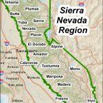 Maps – Sierranevada   Sierra California Map