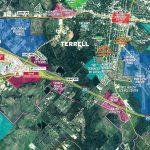 Maps | Terrell, Texas Economic Development Corporation   Terrell Texas Map