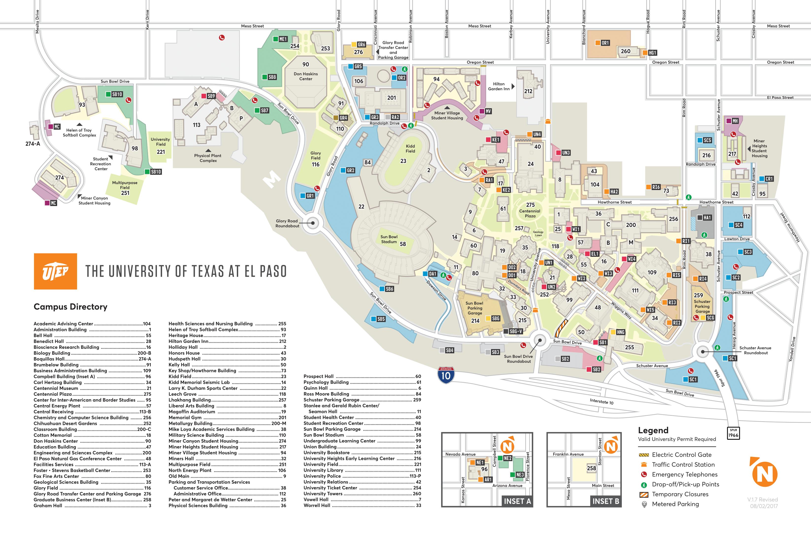 Maps - Texas State University Housing Map