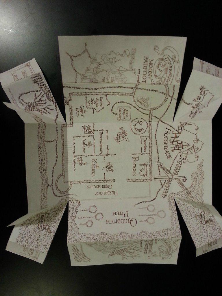 Marauders Map In 2019 | Potterhead | Pinterest | Harry Potter - Marauders Map Printable