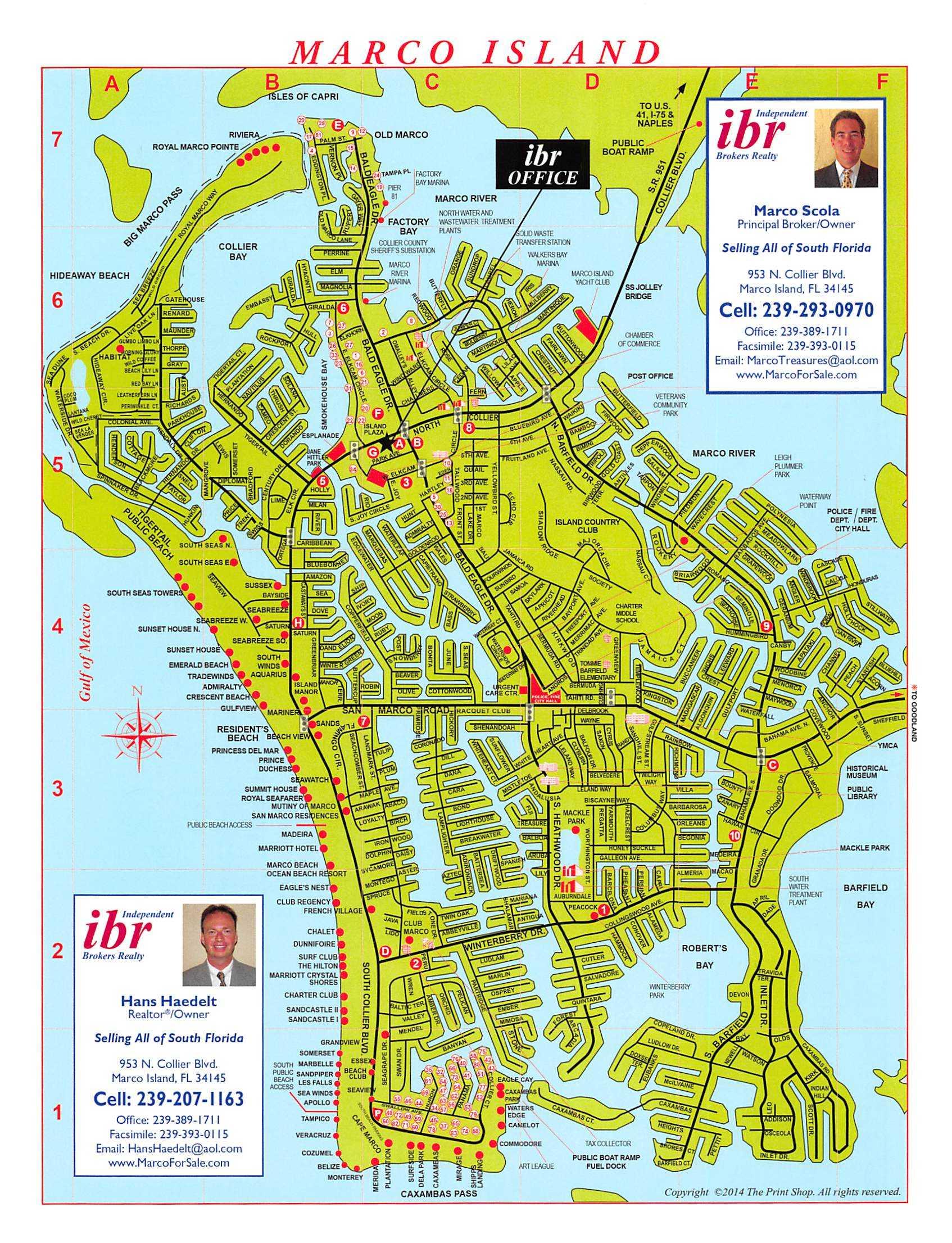 Marco Island Map | Ibr - San Marcos Island Florida Map