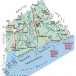 Matagorda County | The Handbook Of Texas Online| Texas State   Texas Navigable Waterways Map