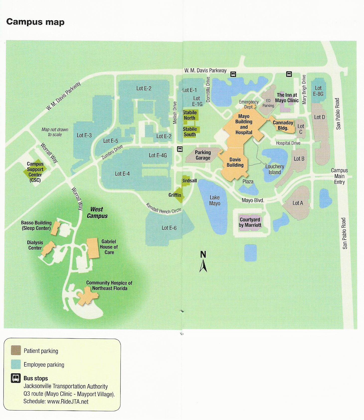 Mayo Clinic Florida Campus Map | Mayo Clinic In Florida | Pinterest - Mayo Clinic Jacksonville Florida Map