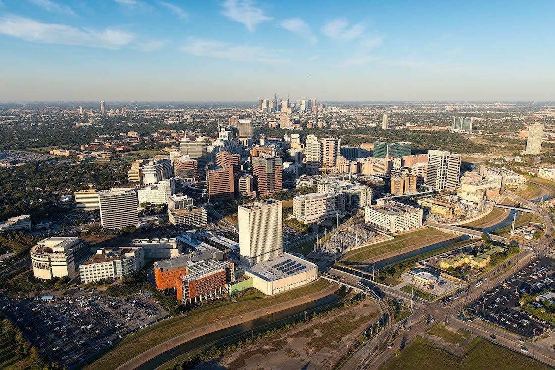 Medical Center Parking Lots   Texas Medical Center   Houston - Texas Medical Center Map