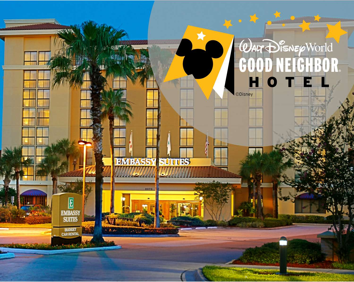 Meetings And Events At Embassy Suiteshilton Orlando - Embassy Suites In Florida Map