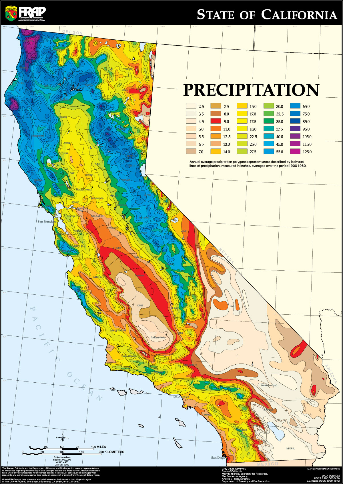 Meteorology 356 Fall 2014 Section 2 Home Page - Doppler Map California