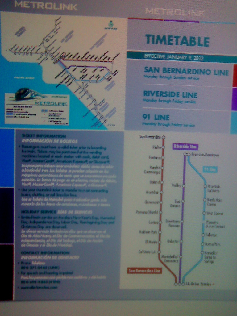 Metrolink Southern California. Welcome To Metrolink. Metrolink - Southern California Metrolink Map