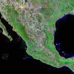 Mexico Map And Satellite Image   Google Maps Satellite Texas